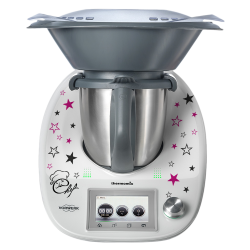 Stickers Thermomix TM5 Etoiles Chef