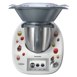 Stickers Thermomix TM5 Cupcake