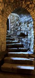 Sticker Porte Escalier En Trompe oeil 2