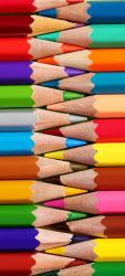 Sticker Porte Enfants Crayons De Couleurs 1