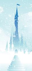 Sticker Porte Enfant Château Walt Disney