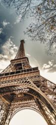 Sticker Porte Tour Eiffel