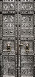 Sticker Porte Orientale En Metal