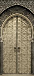 Sticker Porte Orientale En Metal 1
