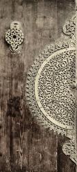 Sticker Porte Orientale En Bois 2