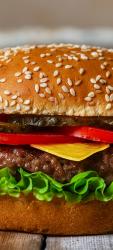 Sticker Porte Hamburger 1