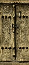 Sticker Porte Orientale En Bois