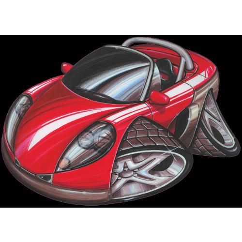 Renault Spyder: Autocollant 060-Renault Spyder