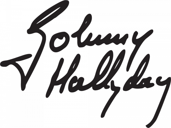 Sticker Johnny Hallyday 3 Ref 6794 Mpa D 233 Co