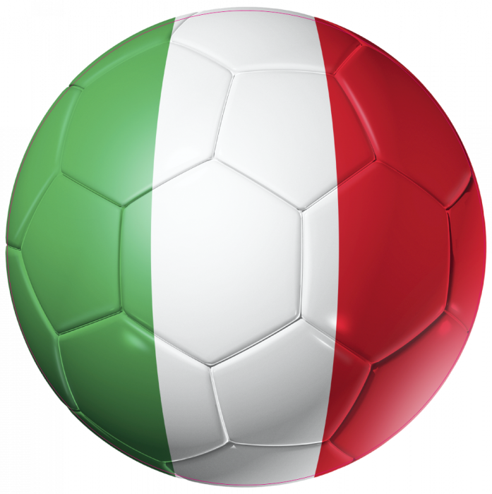Autocollant ballon foot italie coupe du monde mpa d co - Fauteuil ballon de foot ...