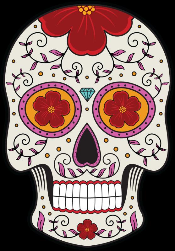 Calavera Tete De Mort Mexicaine 12 Mpa D Co