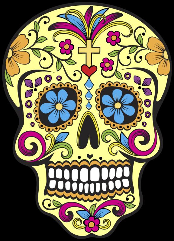 Calavera tete de mort mexicaine 77 mpa d co - Tete mort mexicaine ...