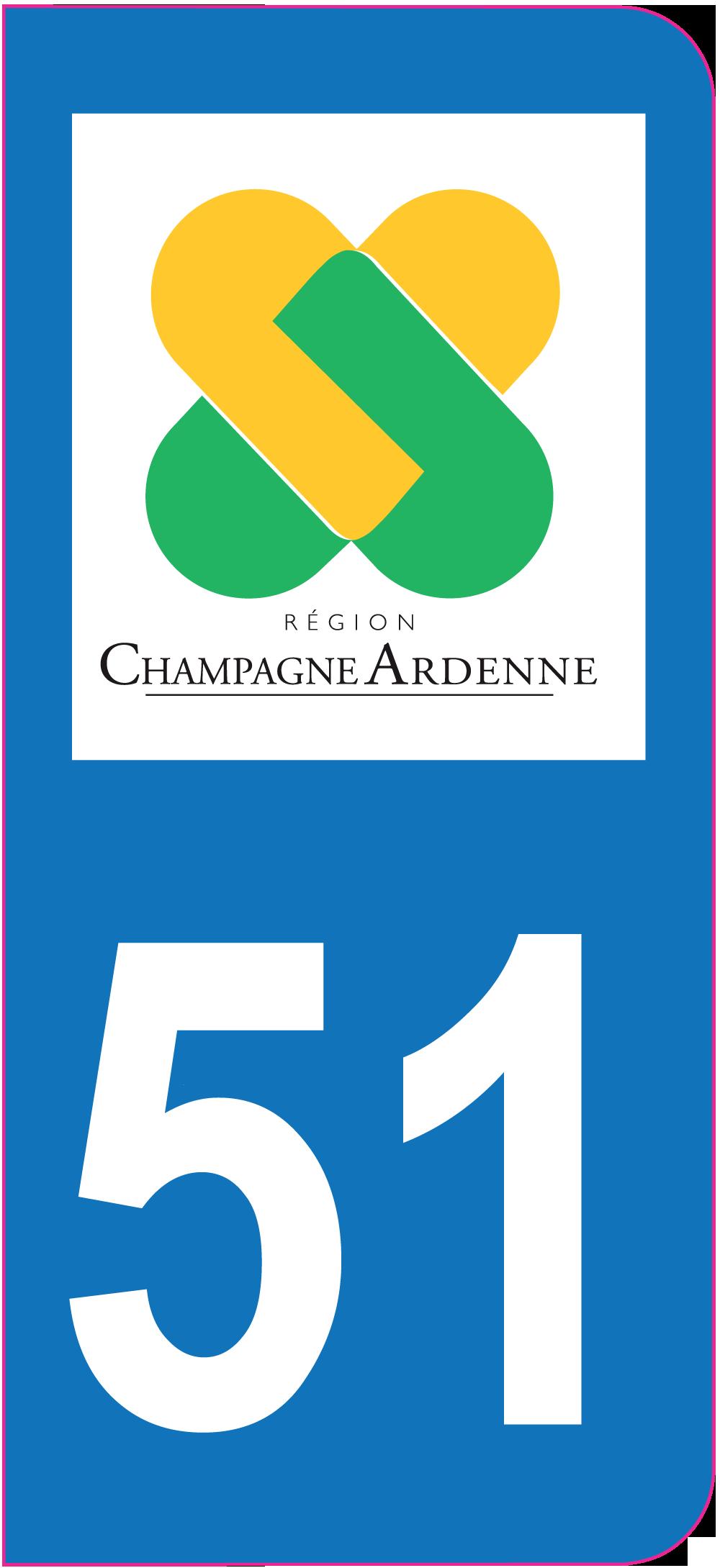 Sticker immatriculation 51 marne mpa d co for Deco 51