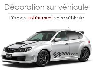 décoration sur véhicule