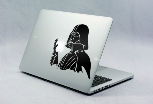 Sticker Macbook Dark Vador