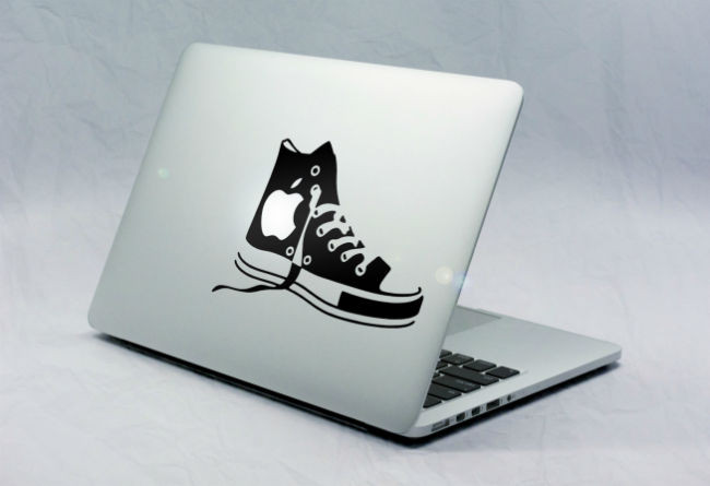 Sticker Macbook Chaussure