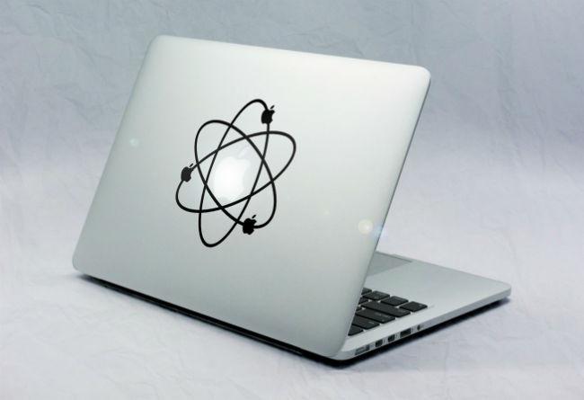 Sticker Macbook Atome