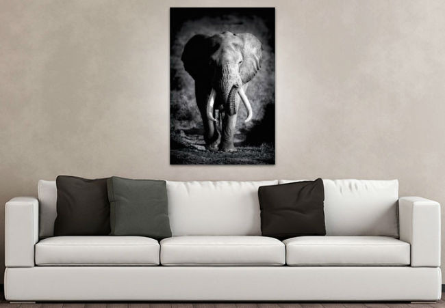 tableau d co l phants d afrique pictures to pin on pinterest. Black Bedroom Furniture Sets. Home Design Ideas