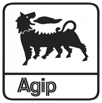 agip - Stickers Lubrifiants