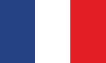 drapeau francais - Autocollants Drapeaux