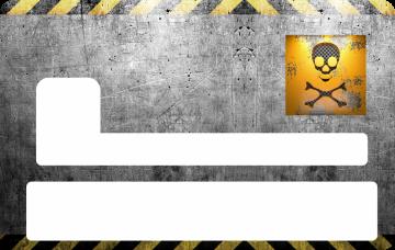 Sticker Cb Grunge Skin Pour Carte Bancaire Ref Cb041 Mpa Deco