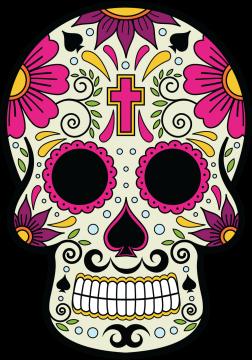 Calavera Tete De Mort Mexicaine 6 Ref D7444 Mpa Déco