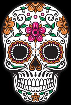 Calavera Tete De Mort Mexicaine 68 Ref D8043 Mpa Déco