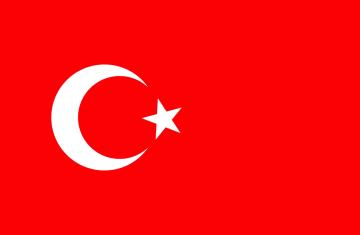 Autocollant Drapeau Turquie - ref.d9368 | MPA Déco