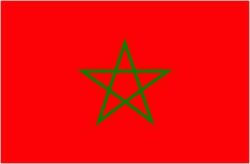 Autocollant drapeau maroc mpa d co - Drapeau du maroc a imprimer ...