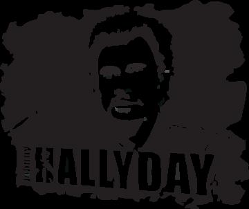 Sticker Johnny Hallyday 1 Ref 6792 Mpa Deco