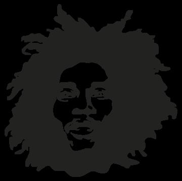 Stickers Bob Marley - ref.si113 | MPA Déco